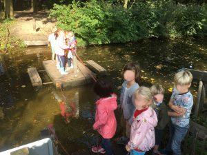 Leerkracht juffen meesters veerpont onderwijs school dieren bos natuur kinderboerderij Rotterdam Kralingen vacatures
